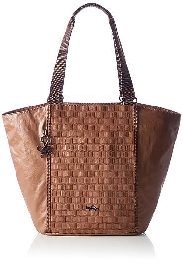Kipling - Eris, Bolsas de tela y playa Mujer, Brown (Tan ...