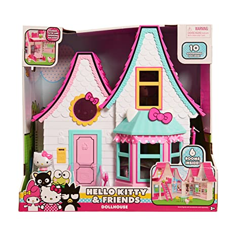 6b1058acc5cd Amazon.com  Hello Kitty Doll House  Toys   Games