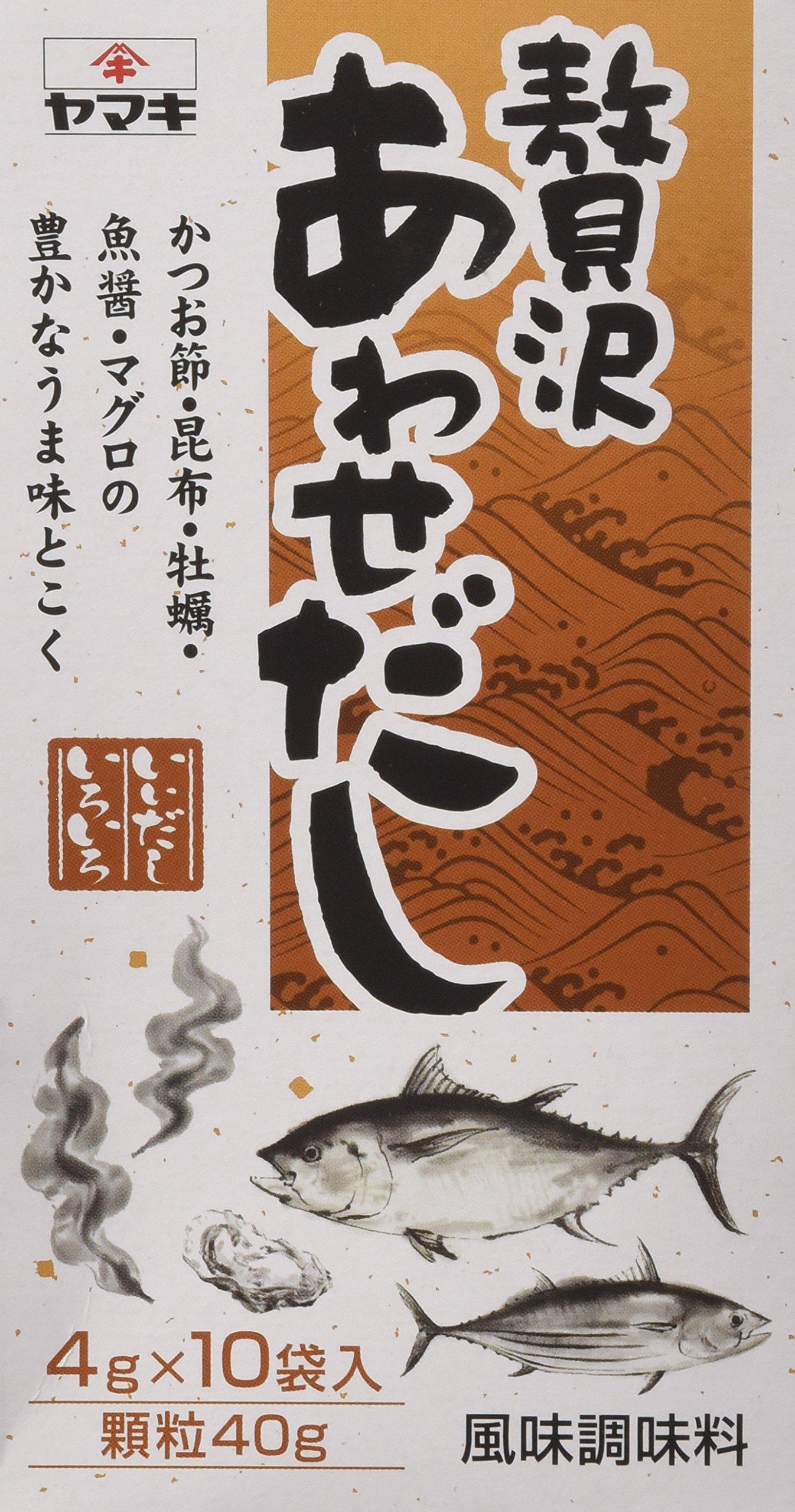 Luxury Bonito and Kombu Dashi Powder (Bonito and Kombu Soup Stock Powder) by Yamaki