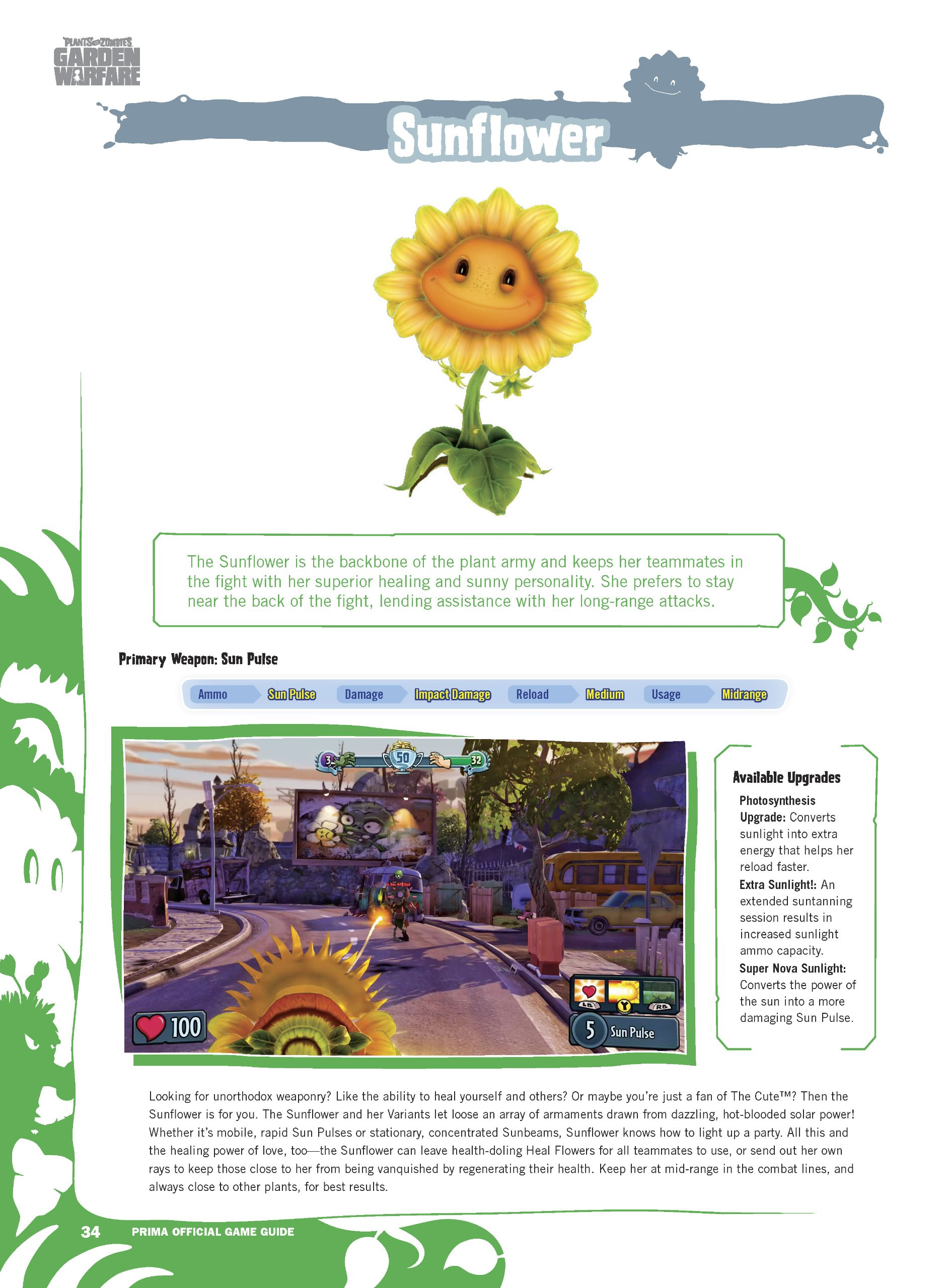 Plants vs Zombies Garden Warfare: Prima Official Game Guide