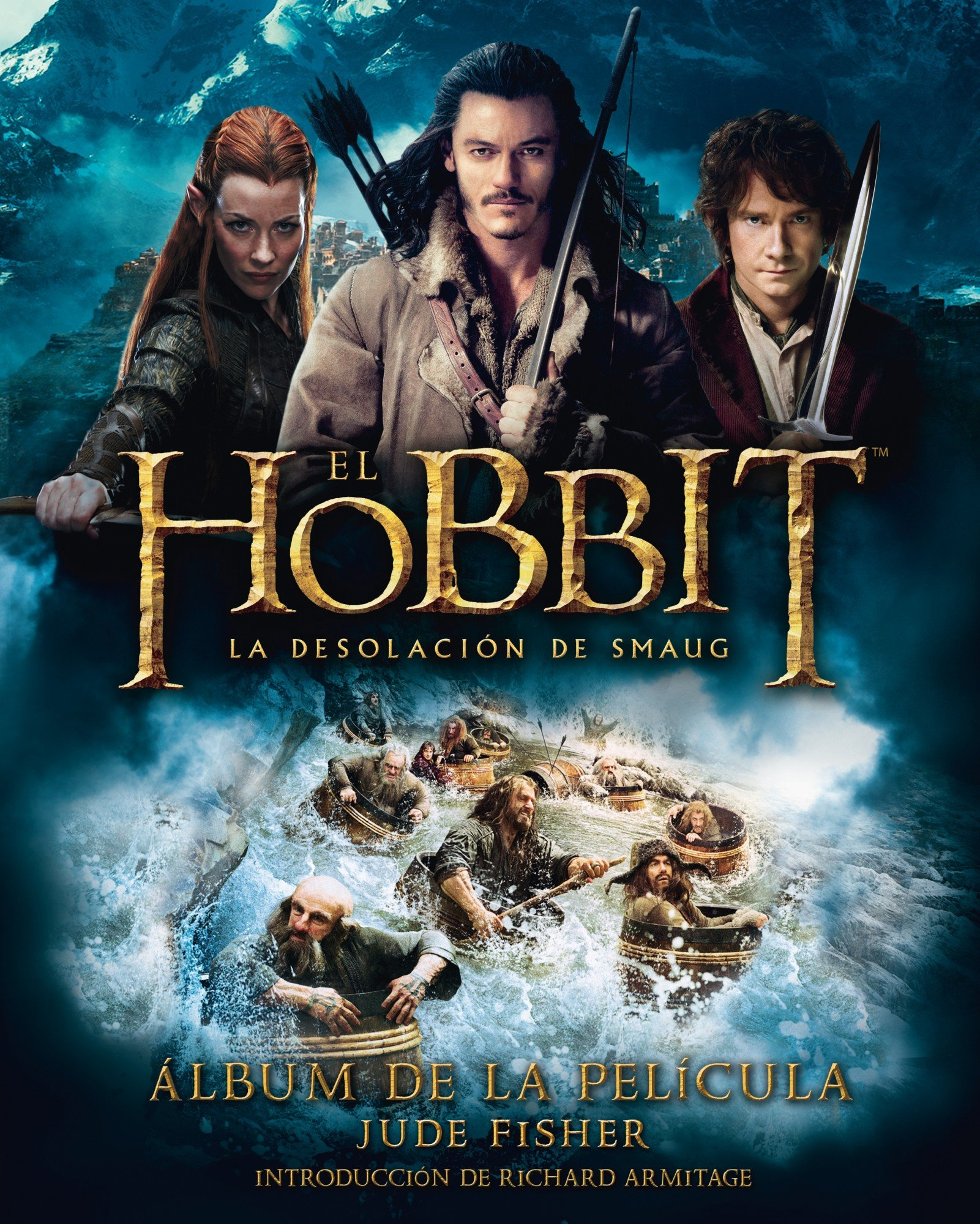 El Hobbit La Desolación De Smaug álbum De La Película Biblioteca J R R Tolkien Spanish Edition Fisher Jude Saitó Simón 9788445001684 Books