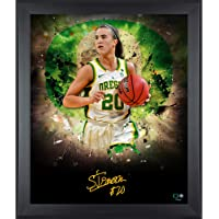 "$103 » Sabrina Ionescu Oregon Ducks Framed Autographed 20"" x 24"" In Focus Photograph - Autographed College Photos"