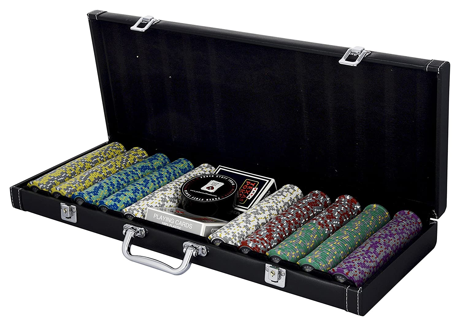 Buy Poker stuff India Unisex Plastic Crown Monte Carlo Chip Set, 56x25x7cm  (Multicolour) Online at Low Prices in India - Amazon.in