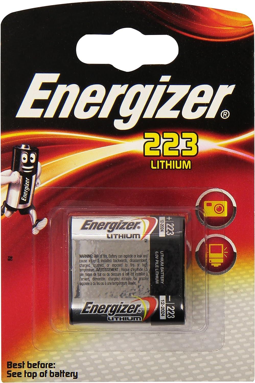 Energizer Photo 223 Battery Lithium Single Pack Elektronik
