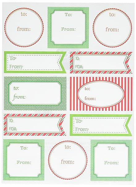 amazon com srm stickers labels by the dozen christmas sticker