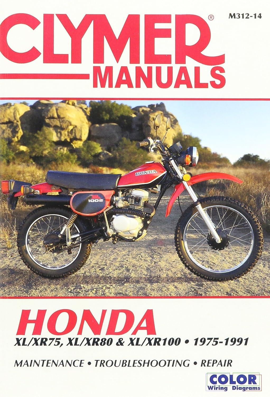 Clymer M31213 Repair Manual Automotive Wiring Diagram 2001 Honda Xr80