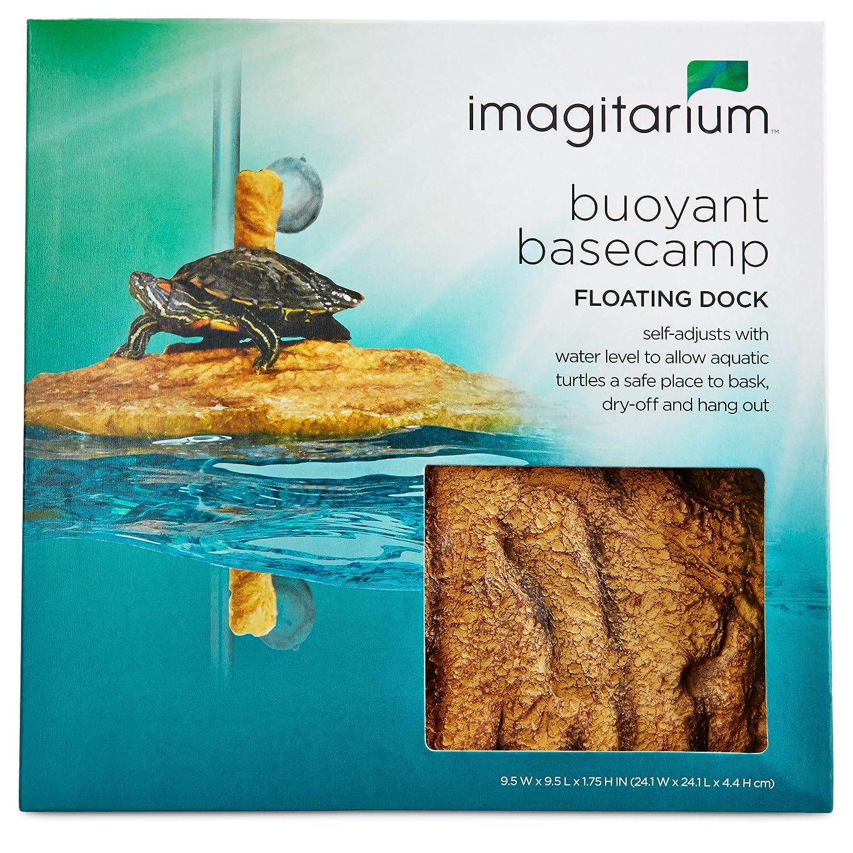 Amazon.com : Imagitarium Corner Floating Turtle Dock : Pet Supplies