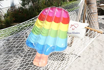Amazon.com: Home Wonder Popsicle flotador hinchable para ...
