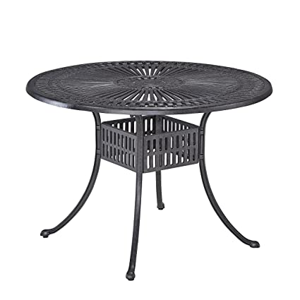 Amazoncom Home Styles Round Outdoor Dining Table Inch - 30 inch round outdoor table