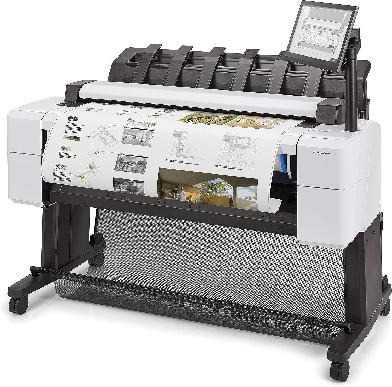 HP Designjet T2600 - Impresora de Gran Formato (2400 x 1200 dpi, Inyección de Tinta térmica, HP-GL/2,HP-RTL,Tiff, Negro, Azul, Gris, Magenta, Amarillo, Escaneo a Color, 600 x 600 dpi): Hp: Amazon.es: Electrónica