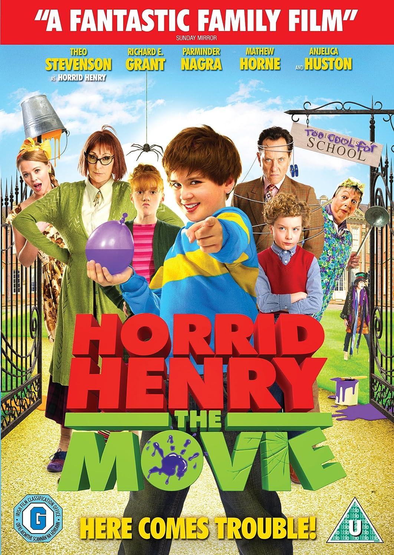 Horrid Henry The Movie Dvd Amazon Co Uk Anjelica Huston Richard E Grant Noel Fielding Theo Stevenson Jo Brand Parminder Nagra Mathew Horne