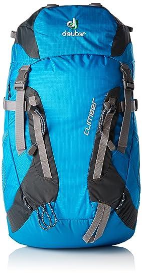 Deuter Climber Mochila, Unisex Adulto, Turquesa (Turquoise-Granite), 52 Centimeters: Amazon.es: Deportes y aire libre