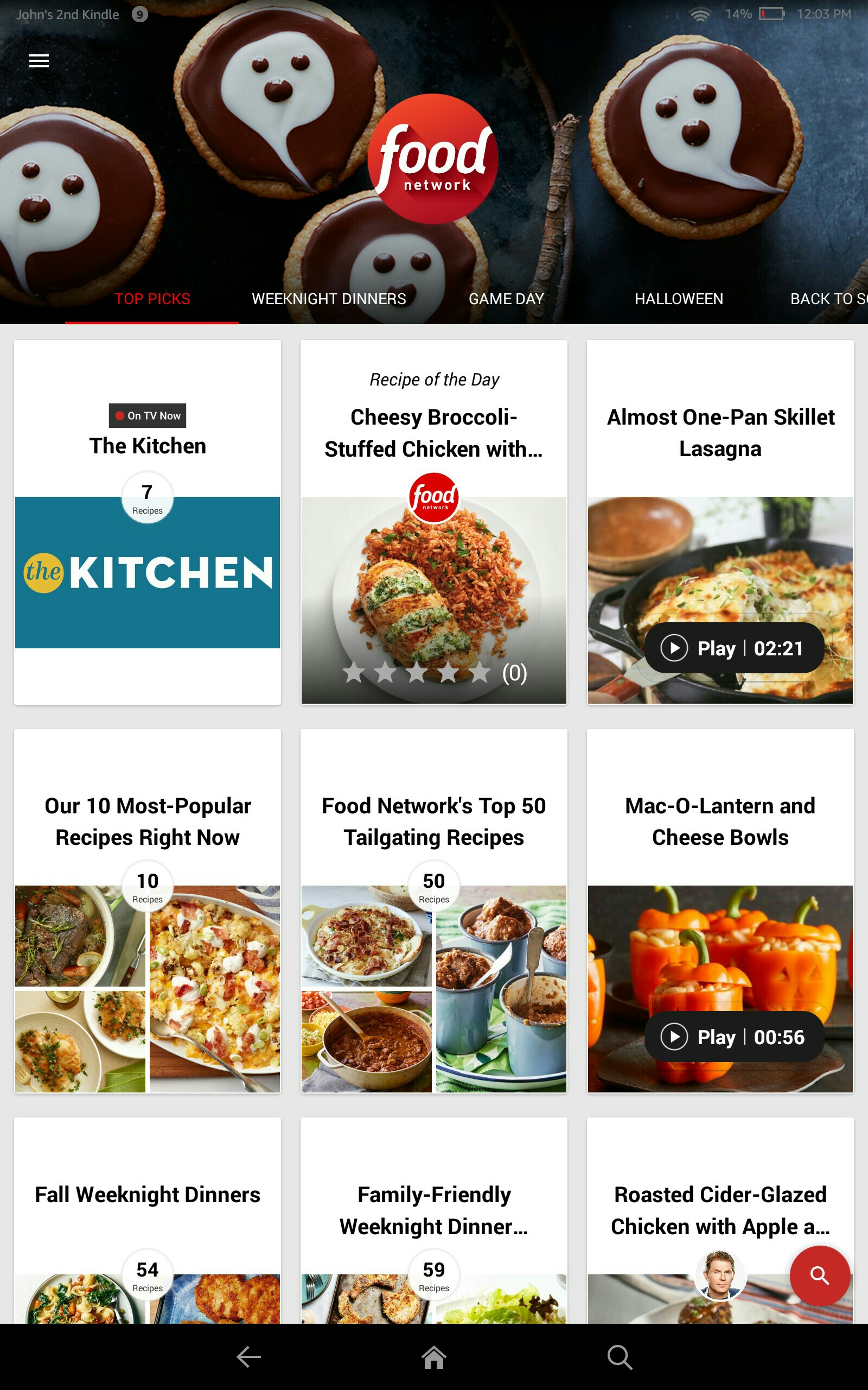 Amazon.com: Food Network In the Kitchen: Appstore for Android