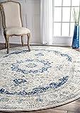 "nuLOOM Verona Vintage Persian Rug, 6' 7"" x"