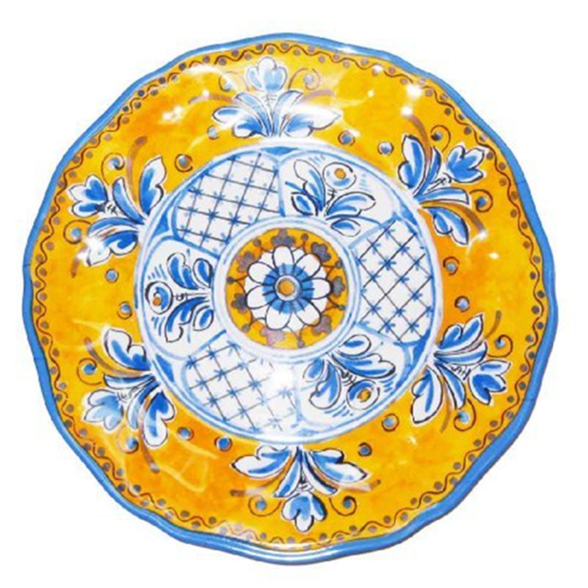 Le Cadeaux Benidorm 11'' Melamine Dinner Plate - set of 4
