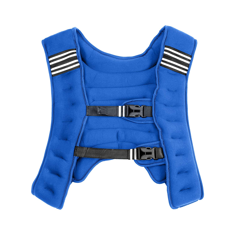 8kg Neoprene Sand Filled Weight Vest 10kg Ideal for Fitness Exercise Resistance Strength Bootcamp Training 5kg Lions Running Weight Jacket for Men Women