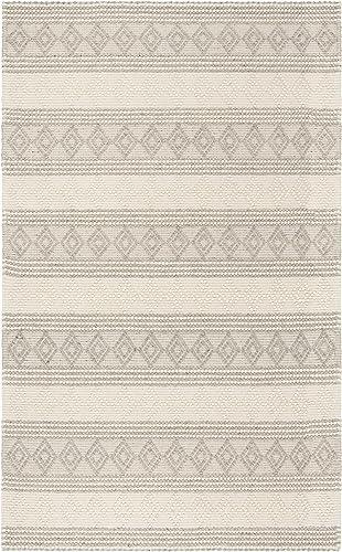 Safavieh Natura Collection NAT750F Handmade Moroccan Boho Tribal Wool Cotton Area Rug