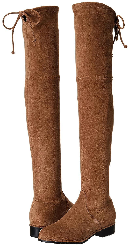 Kaitlyn Pan Women's Microsuede Flat Thigh Heel Over The Knee Thigh Flat High Boots B078H5F1TD 10.5US/ 42EU/ 44CN|Caramel 0baf12