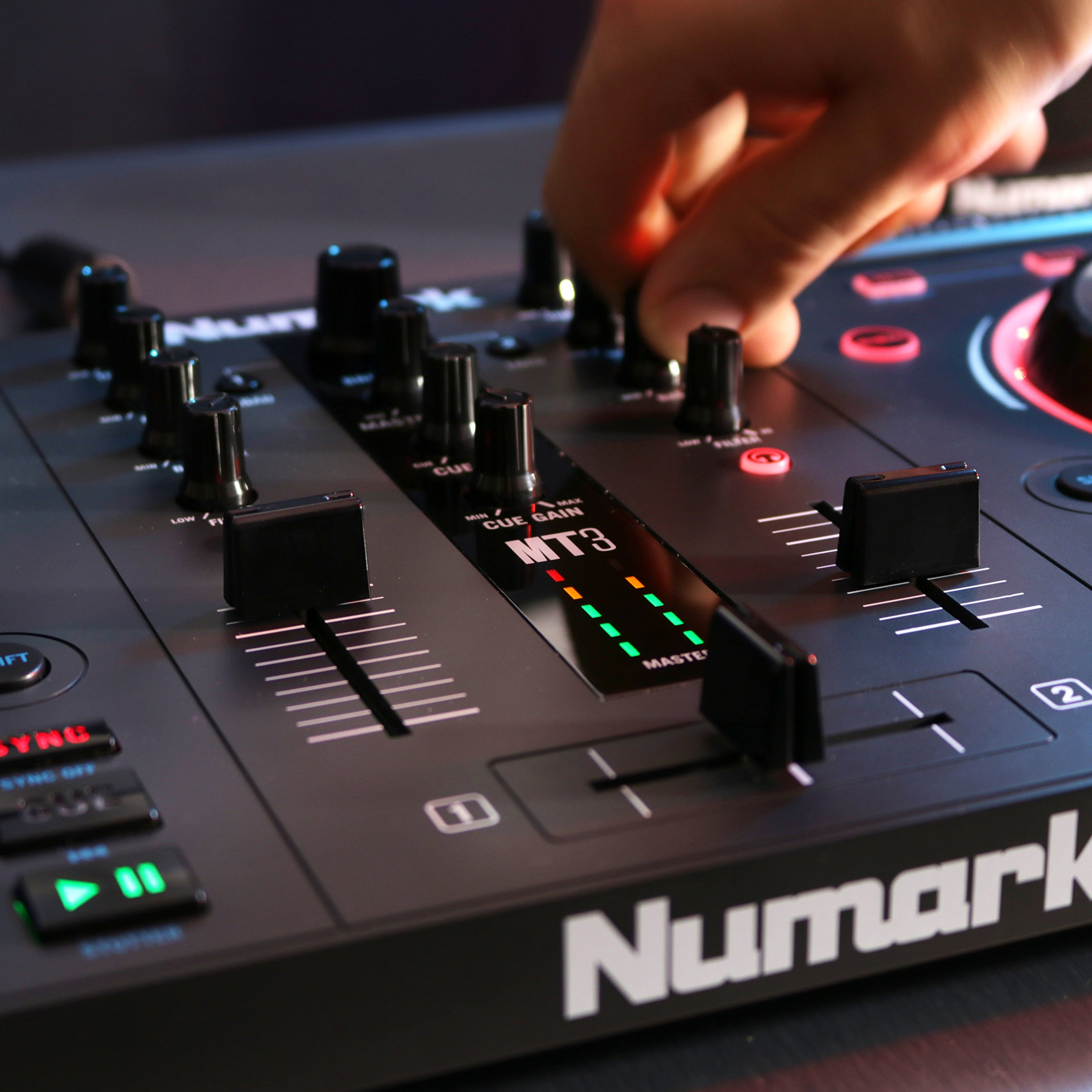 Numark Mixtrack 3 | All-in-one Controller Solution with Virtual DJ LE Software Download by Numark (Image #8)