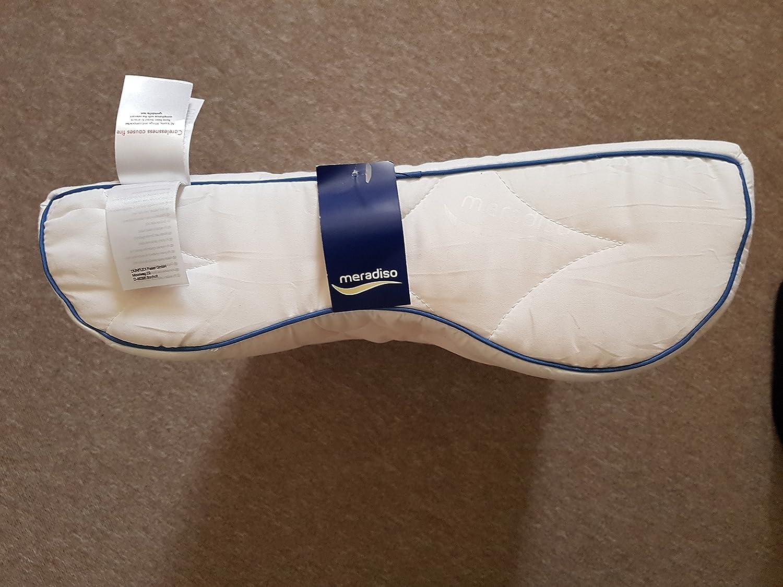 Meradiso Microfibre Neck Support Pillow