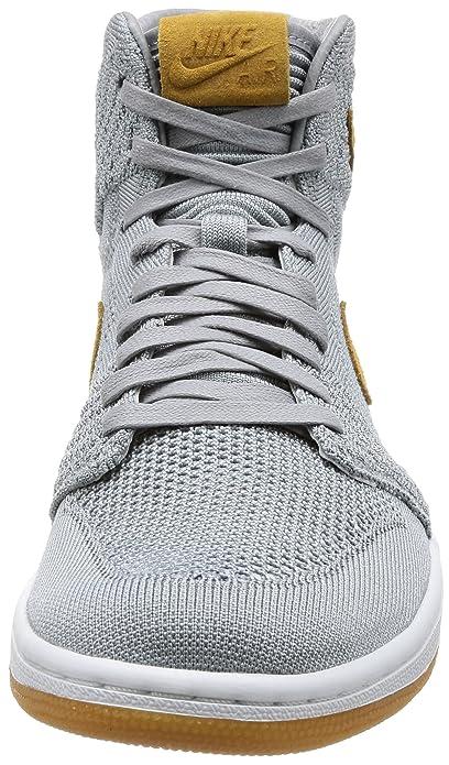promo code 7cdf5 4e6bc Nike AIR Jordan 1 Retro HI Flyknit  Flyknit  - 919704-025 - Size UK 8 EUR  42.5 US 9  Amazon.co.uk  Shoes   Bags