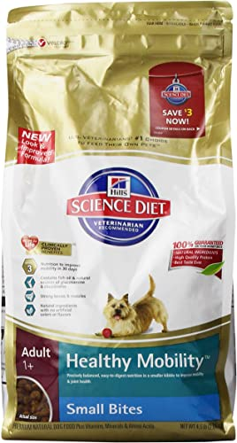 Hill S Science Diet Adult Healthy Mobility Small Bites Dry Dog Food