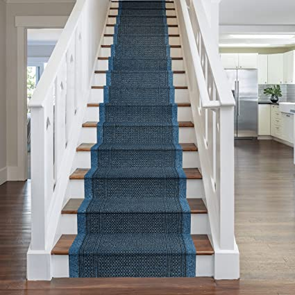 Long Narrow Stairs Carpet Hallway Runner Red Patchwork Traditional Stair Carpet
