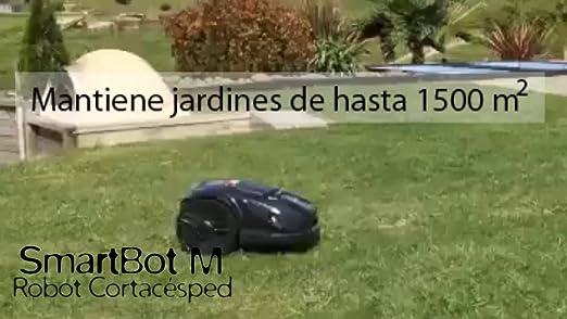 SMARTBOT Robot Cortacesped Serie M - hasta 1.500 m2: Amazon ...