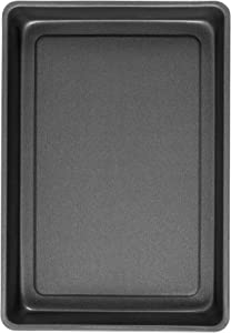 "G & S Metal Products Company PB64 ProBake Teflon Xtra Nonstick Bake and Roasting Pan, 15.5"" x 10.5"", Charcoal"