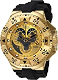 Invicta 18557 50mm Stainless Steel Case Black Polyurethane flame fusion Men's Watch