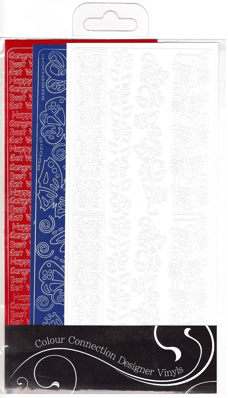 Craftime Colour Connection Designer Vinyls, Union Jack AC0139U