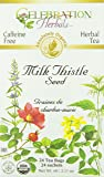 Celebration Herbals Milk Thistle Seed Herbal Tea -- 24 Tea Bags
