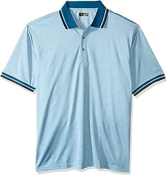 PGA TOUR Mens Short Sleeve Oxford Polo Shirt Short Sleeve Golf Shirt