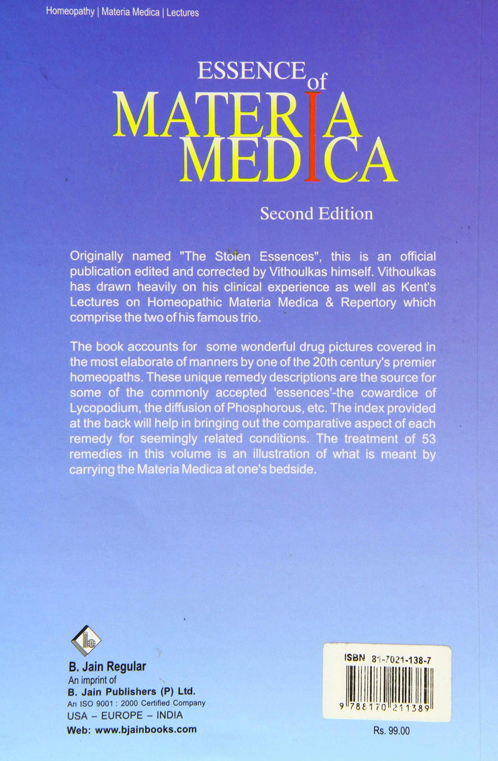 MATERIA MEDICA VITHOULKAS EBOOK