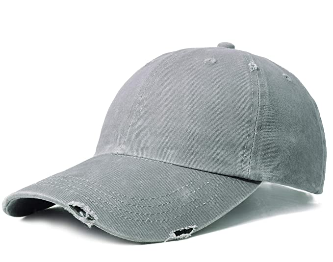 a29e89772 ELLEWIN Unisex Classic Plain Baseball Cap Adjustable Unstructured 6 Panel  Dad Hats