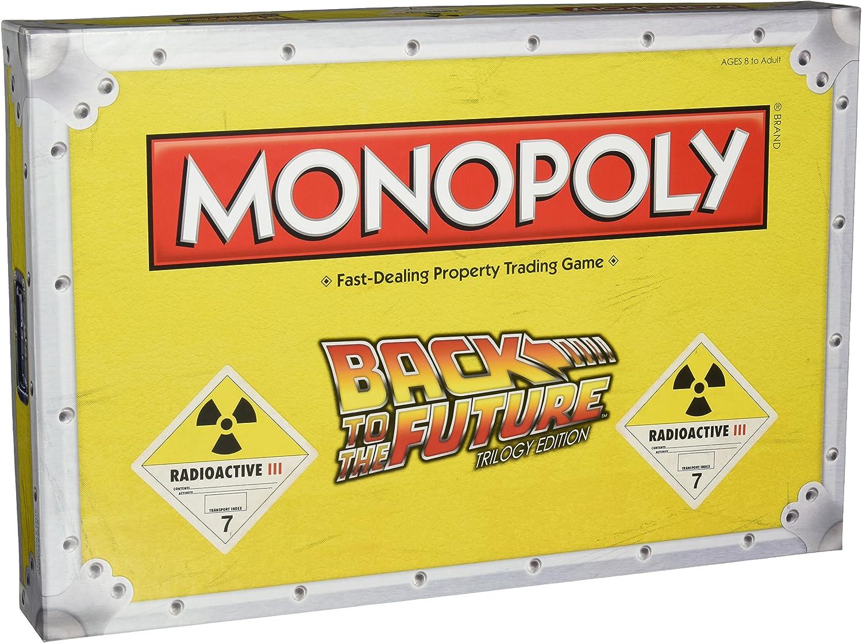 Regreso al Futuro Juego de Mesa Monopoly *Edición US*: Amazon.es: Juguetes y juegos