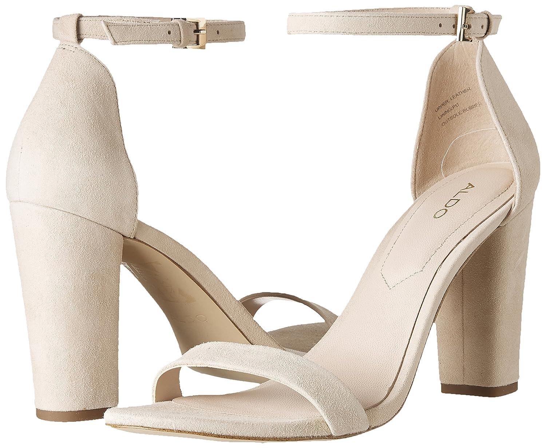 Aldo Women's Women's Aldo MYLY Fashion Sandals 7- B US Bone Suede B077GVWQNB 6c5e6f