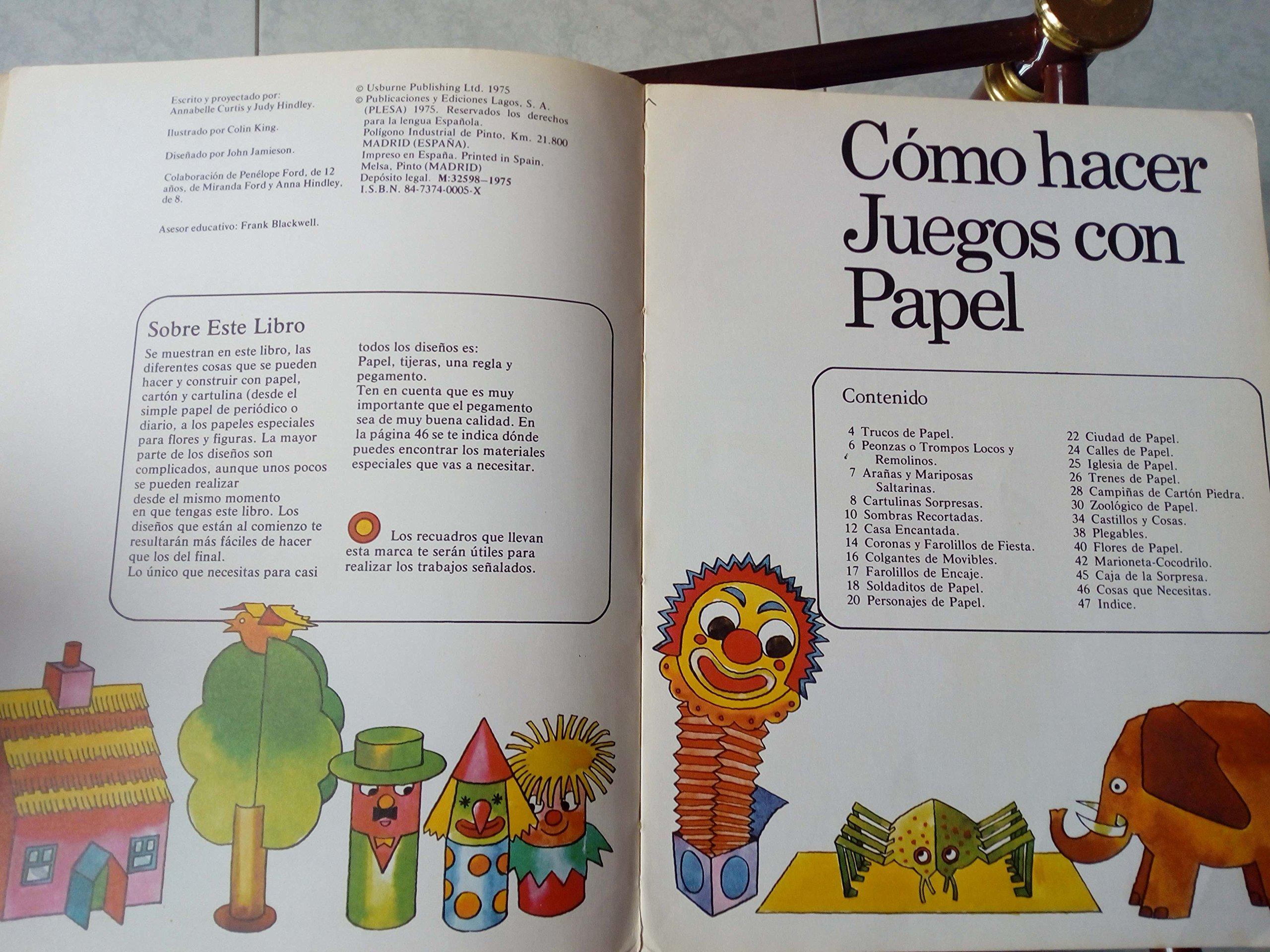 Cómo hacer Juegos con papel. Cosas que se pueden hacer con papel ...
