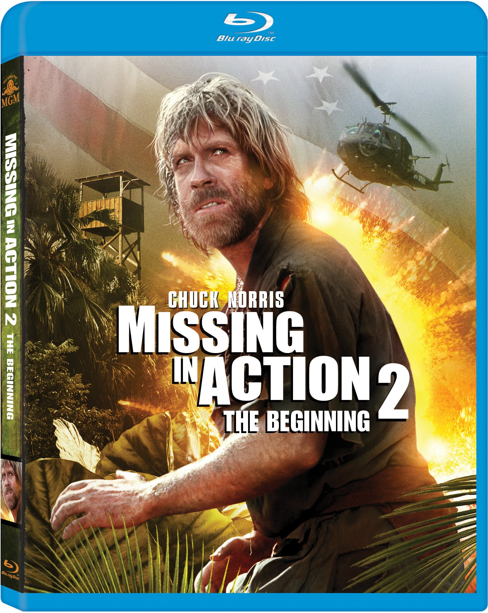 Blu-ray : Missing in Action 2: The Beginning (Digital Theater System, Widescreen, )