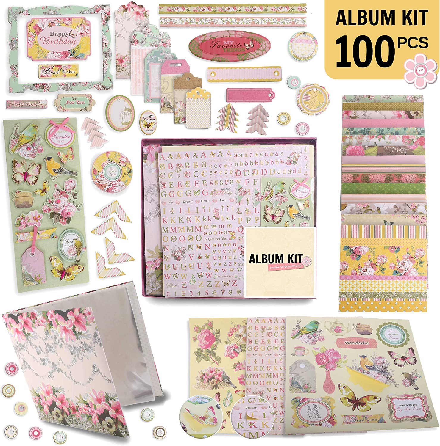 A Book is a Dream Scrapbook Page Kit