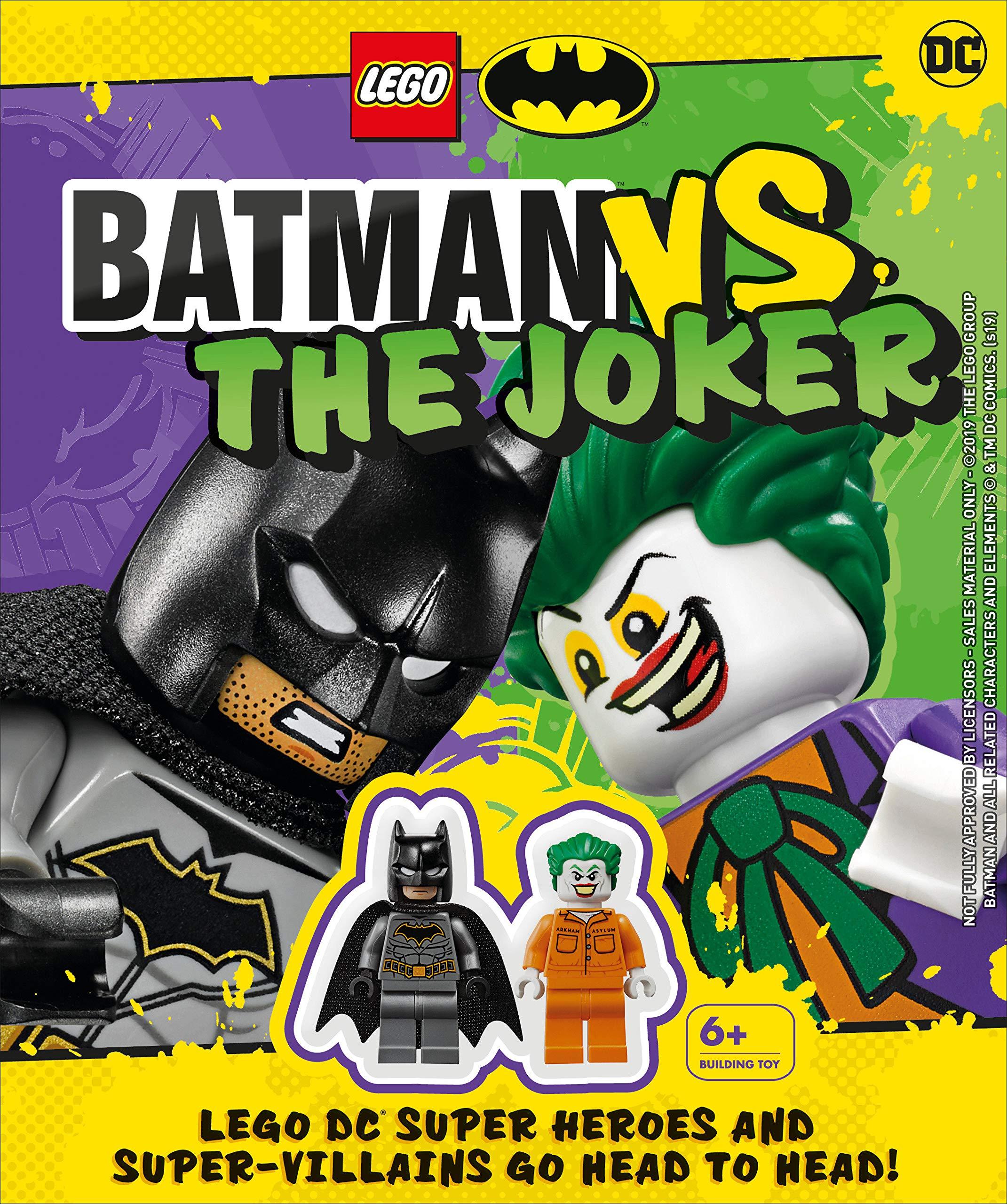 Lot of 8 DC Figure Batman Robin Joker HarleyQuinn Figures Minifigure LEGO