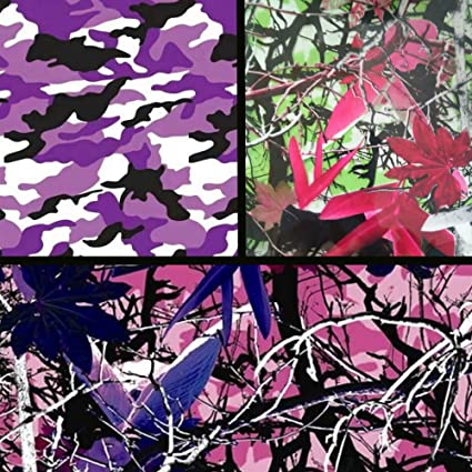 RC-502 Hydro Dipping Water Transfer Printing Film Hydrographic Film Inkstag PINK Camo