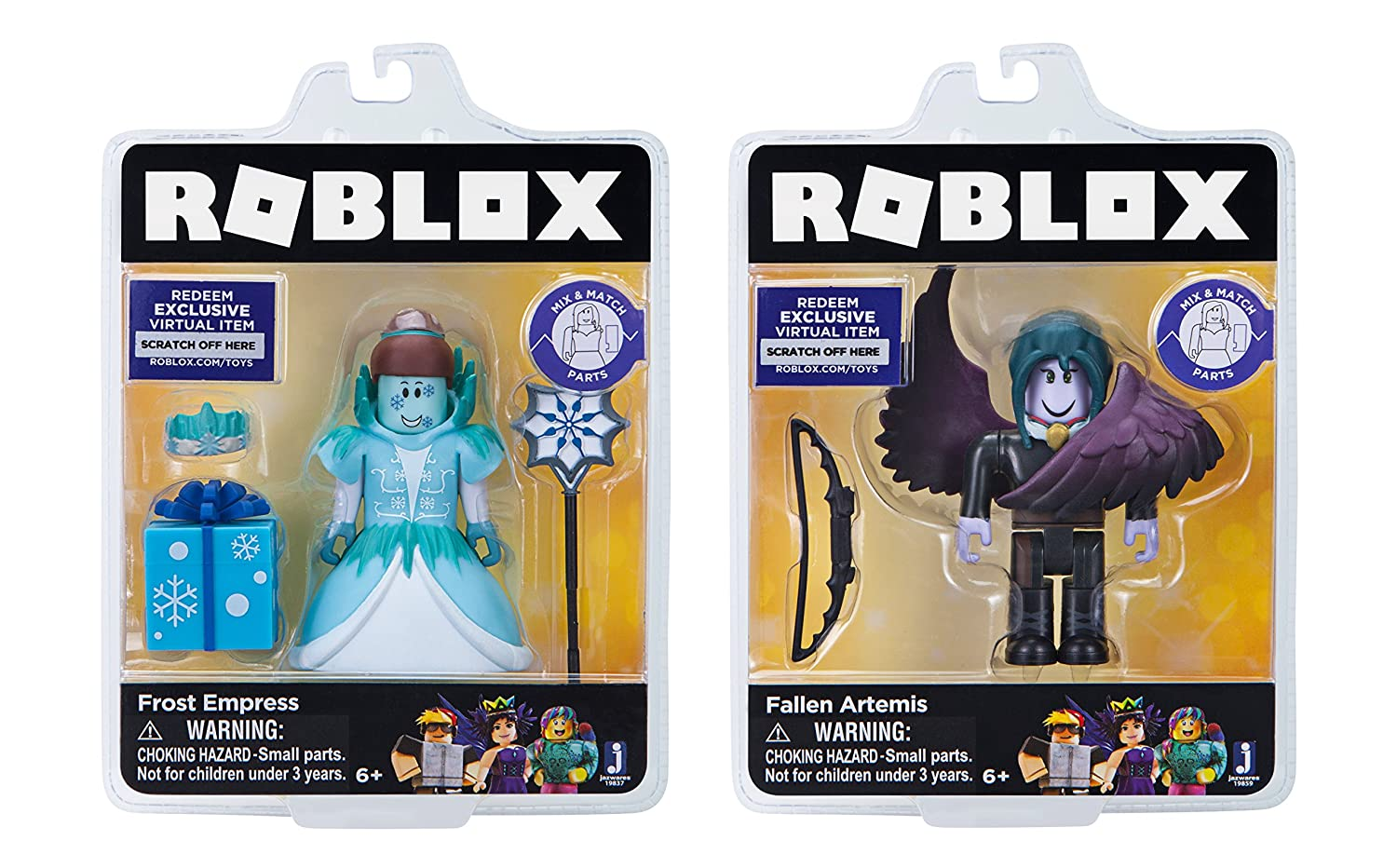 19912 Roblox Celebrity Collection Phantom LA Hoverboarder and Ghost Forces Two Figure Pack