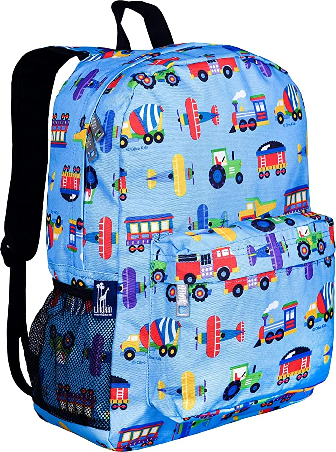 Children/'s backpack in wax fabric