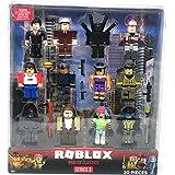 Roblox Toolbox Toy Amazon Com Roblox Random Action Figures Mystery Box Virtual Item Code 2 5 Set Of 3 Random Roblox Figures Toys Games