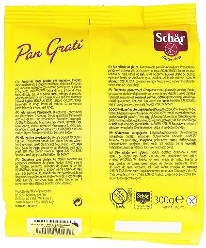 Dr. Schar Pan Rallado SIN GLUTEN - 300 gr