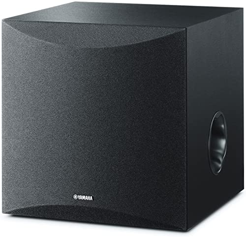 Yamaha 8 100W Powered Subwoofer – Black NS-SW050BL