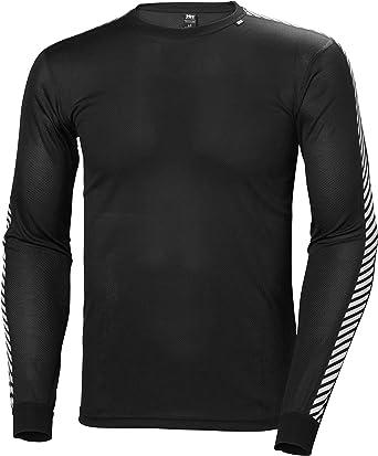 Helly Hansen - Camiseta Deportiva para Hombre (Manga Larga), diseño a Rayas: Amazon.es: Ropa y accesorios