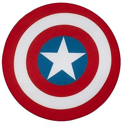 "Marvel Universe Classic Collection, Avengers Assemble Captain America 9"" Plush Shield: Toys & Games"