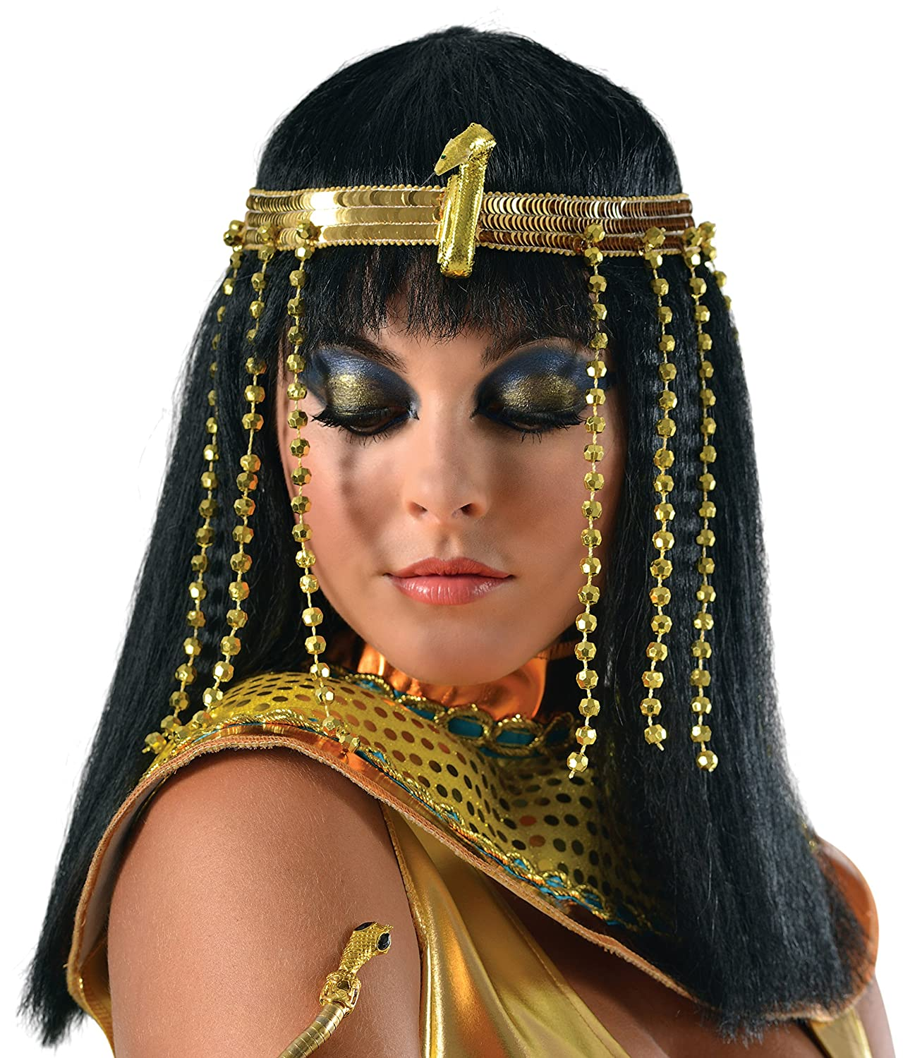 Rubies Costume Women's Egyptian Headpiece Multi One Size 36439